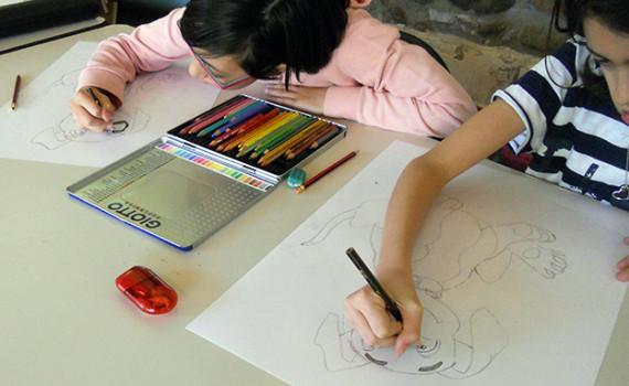 Corso disegno per bambini Bergamo