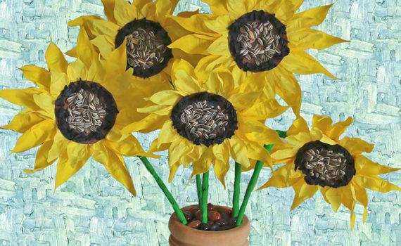 Laboratorio creativo Van Gogh per bambini Bergamo